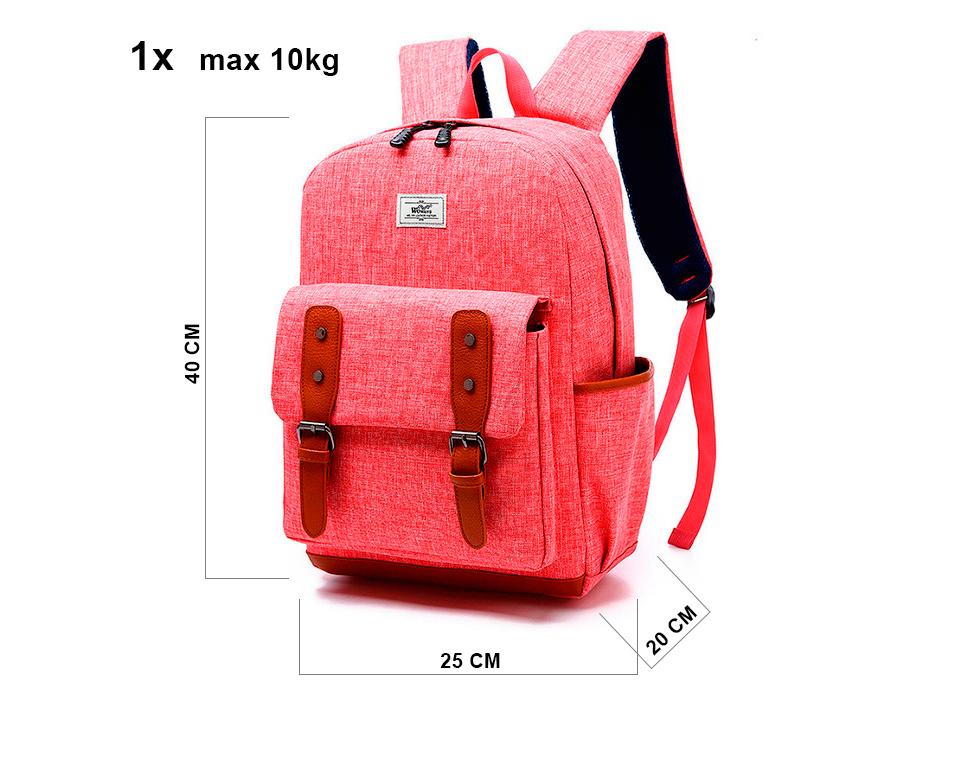 Maximální rozměry příručního zavazadla