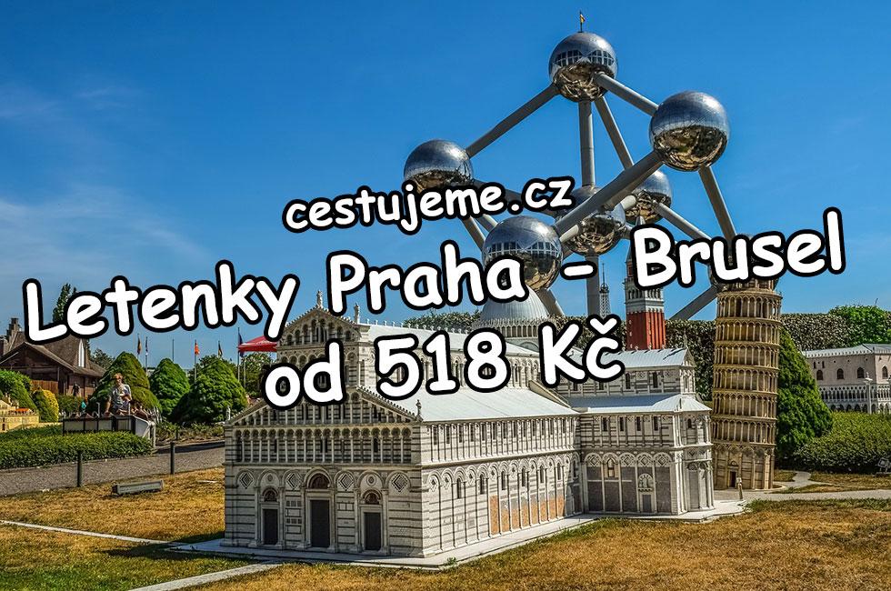 Letenky Praha - Brusel v lednu za 518 Kč