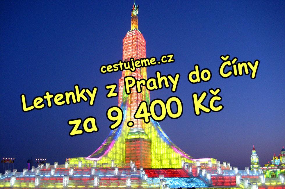 Letenky z Prahy do Číny za 9.400 Kč