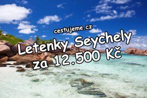 Šance na dovolenou snů, letenky na Seychely za 12.500 Kč
