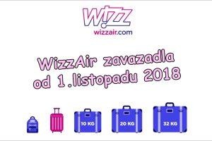 WizzAir zavazadla – maximální rozměry a počty