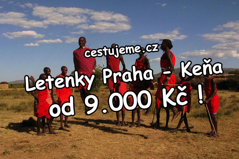 Levné letenky Keňa - fantastická cena pod 9.000 Kč !